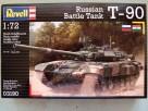 Revell Russian Battle Tank T-90 1/723